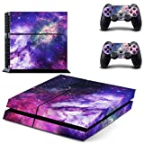 Galaxy Stars Nebula Design Vinyl Skin Decal for Sony PlayStation 4 PS4 Console Sticker