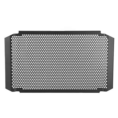 Aramox Protezione del radiatore Tracer 900, Protezione della Copertura della Protezione della griglia del radiatore del Motociclo Lega di Alluminio Adatto per XSR900 MT-09 FZ-09 Tracer 900 GT Nero