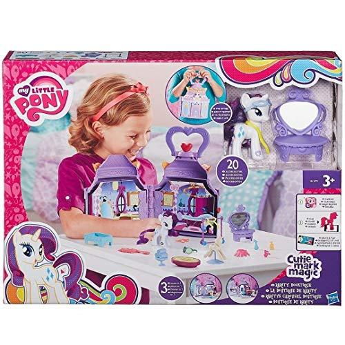 My Little Pony - B1372eu40 - Mini-poupu00e9e - Boutique De Mode + Rarity