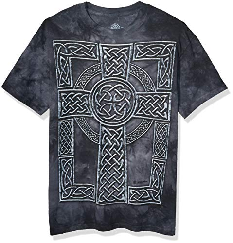 The Mountain Men's Celtic Cross T-Shirt, Black, Large
