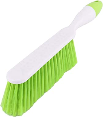 ALOUD CREATIONS Long Bristle Plastic Cleaning Brush for Carpet, Car Seat, Curtains, Mats and Household Upholstery