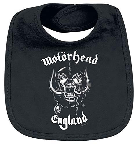 Motörhead England Unisex Lätzchen schwarz