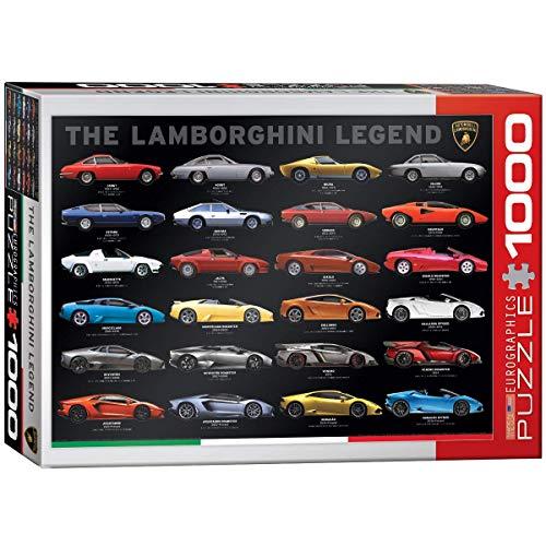 EuroGraphics 'El Lamborghini Leyenda Puzzle (1000Piezas, Multicolor)