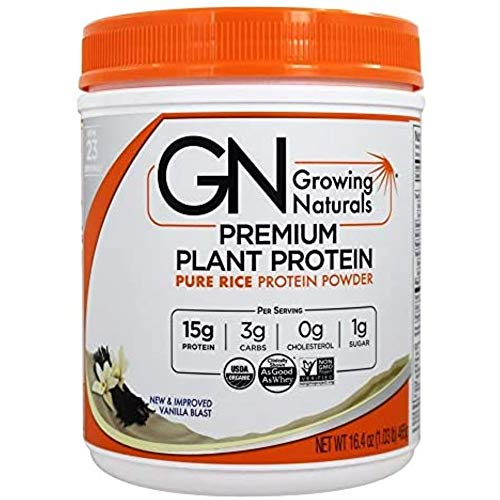Growing Naturals Rice Protein Isolate