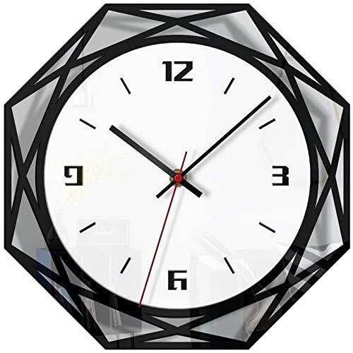 JFFFFWI Wall Clocks Wall Clock Bedroom Wall Clocks Digital Wall Clock Radio Controlled Wall Clock Modern Wall Clock Large Wall Clock