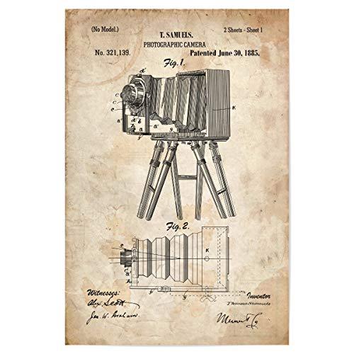 artboxONE Poster 30x20 cm Reise Antike Fotoapparat II (Antik) - Bild antike fotoapparat fotoapparat Kamera