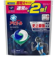 アリエールジェルボール3D プラチナスポーツ つめかえ用チョウ特大サイズ × 8個セット