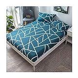 LYQZ Weich Baumwollbett Einzelstück Staubdicht Bettdecke 1,2 m 1,5 m 1,8 Matratzenbezug Bettdecke Bettwäsche (Color : C, Size : 120 * 120cm)