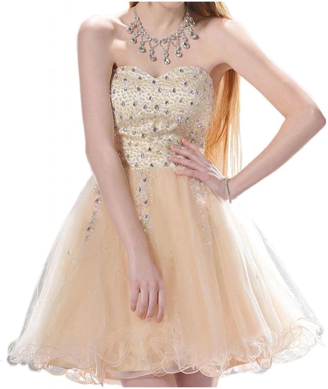 Angel Bride Sweet Mini ALine Sweetheart Homecoming Party Dresses