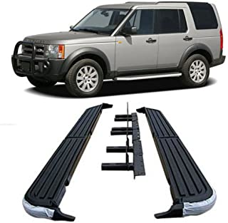 05-10 Land Rover LR3 LR4 Discovery-3 Aluminum Running Boards Pair Set Step Side