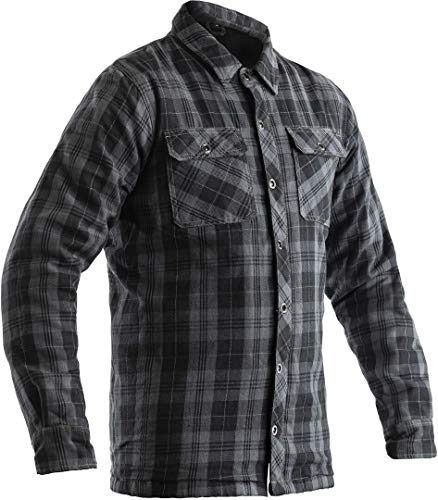 RST Lumberjack Motorrad Hemd Grau 48