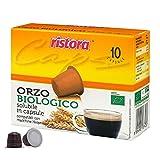 Ristora - Lote de 30 cápsulas compatibles con Nespresso de café de malta biológico