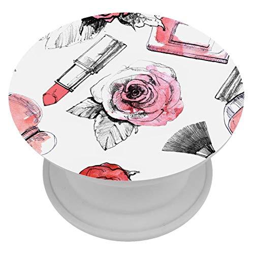 henghenghaha ABS Grip voor Telefoons & Tabletten Handhouder Knop 1 PCS Parfum Met Lippenstift En Make-up Borstel