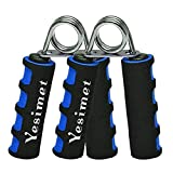 E-smartinlife Hand Grip Strengthener Set, Finger Gripper, Hand Grippers - Soft Foam Hand Exerciser...