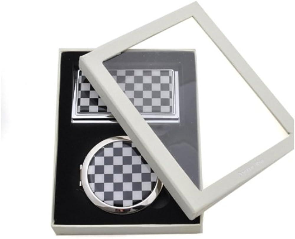 Rhinestone Sale item Accented Matching 2021 Mirror Card Set Case