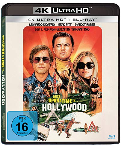 Once Upon A Time In… Hollywood (UHD) [Blu-ray]