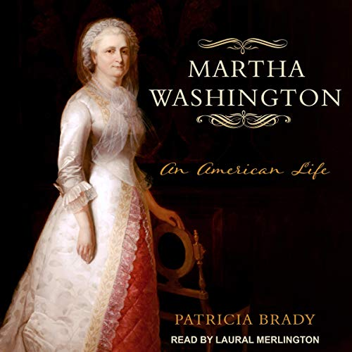 Martha Washington audiobook cover art