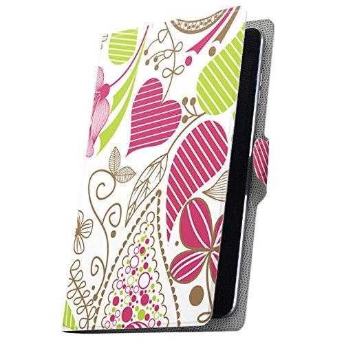 タブレット 手帳型 タブレットケース タブレットカバー カバー レザー ケース 手帳タイプ フリップ ダイアリー 二つ折り 革 花 カラフル 001304 MediaPad T3 7 Huawei ファーウェイ MediaPad T3 7 メディアパッド