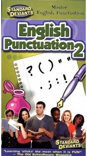Standard Deviants: mart English Punctuation Ranking TOP11 Set 2 VHS Video