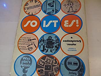 So ist es! A contemporary reader 015581382X Book Cover