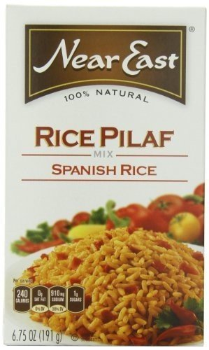 NEAR 2021 new EAST RICE MIX PILAF Our shop most popular 6.75 OZ PK- SPANISH 12