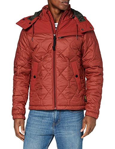 G-STAR RAW Attacc Heatseal Quilted HDD Jkt Chaqueta, Dry Red C470-5298, XS para Hombre