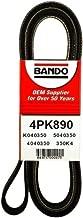 Bando USA 4PK890 Belts
