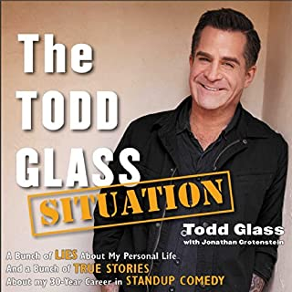 The Todd Glass Situation     A Bunch of Lies about My Personal Life and a Bunch of True Stories about My 30-Year Career in Standup Comedy              Written by:                                                                                                                                 Todd Glass,                                                                                        Jonathan Grotenstein                               Narrated by:                                                                                                                                 Oliver Wyman                      Length: 6 hrs and 5 mins     Not rated yet     Overall 0.0