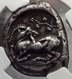 425 GR KELENDERIS CILICIA 425BC Stater Horse Rider Goat coin XF NGC