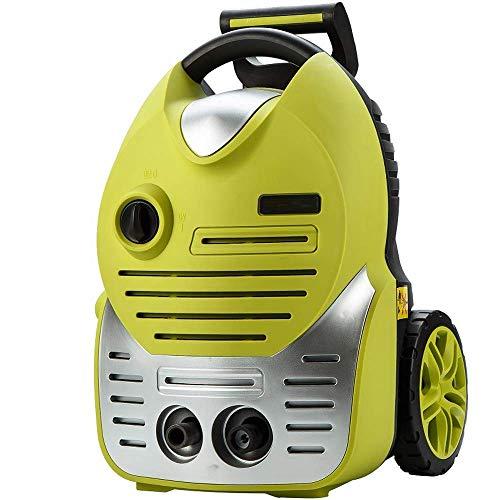 Elektrische drukreiniger hogedrukreiniger 1700W 145bar energie auto wasmachine patio met lange slang, spuitpistool voor het reinigen van voertuigen, huis Mu