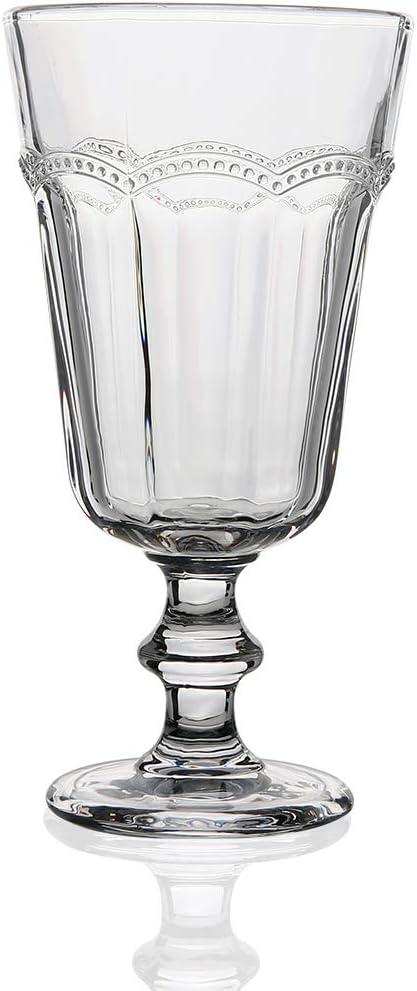 G Pearl Ridge Large Beverage Glass Goblets Max 61% OFF Hea Of 11.6 San Antonio Mall 6 set oz