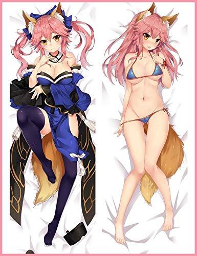 GB Arts Tamamo no Mae Bikini Fate/Grand Order Peach Skin 150cm x 50cm Body Pillowcase