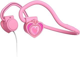 【子供用】【骨伝達】myFirst Headphones BC イヤホン【全三色・聴力を守る】ヘッドホン スポーツ 超軽量 高音質 耳が疲れない ピンク