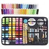 WENYOG Kit De Costura Kits de Costura 68-200pcs Reparación Caja de Coser Conjunto para acolchar de Mano Hilo de Costura Bordado Accesorios de Costura Costureros De Costura (Color : 200 PCS)