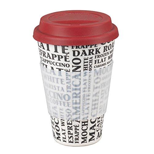 Taza Sippy reutilizable para llevar sin BPA Coffee Aroma de Cambridge® CM04529