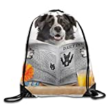 Jiger Check out My Six Pack Donut Drawstring Backpack Bag Be