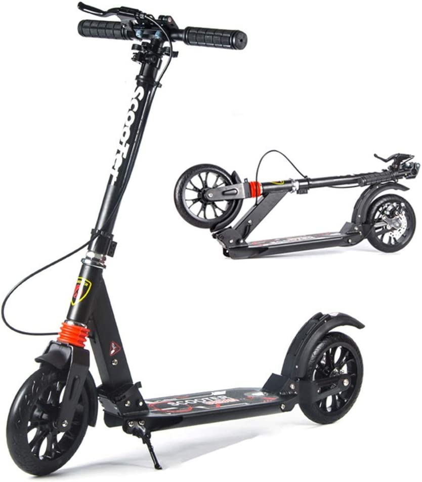 specialty shop Scooters YXX- Adult Folding Commuter with Large outlet Kids Kick Teens
