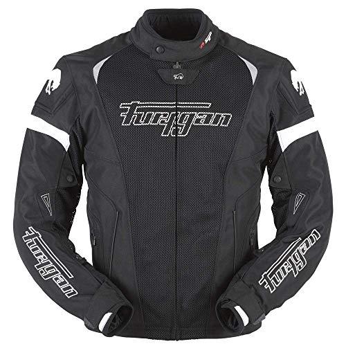 Furygan Spark 3in1 Evo 3-in-1-Jacke für Herren XL Schwarz/Weiß