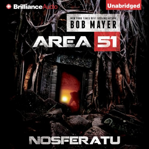 Area 51: Nosferatu audiobook cover art