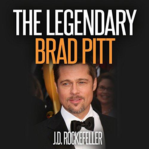 The Legendary Brad Pitt audiobook cover art
