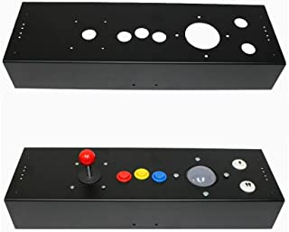 RetroArcade.us ra-cabinet-cp-3in multicade Full Size Control Panel 3 inch trackball Hole for Stand up cabinets Jamma and mame