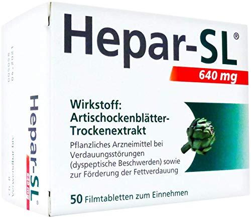 Hepar-SL 640 mg Filmtabletten, 50 St