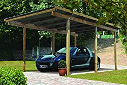 carport aus holz carport bausatz. Black Bedroom Furniture Sets. Home Design Ideas
