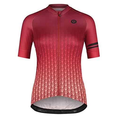 AGU Art Deco Fahrradtrikot Trend Damen -Rosa - XS