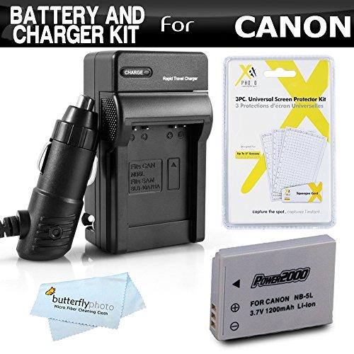 batería canon nb-5l fabricante ButterflyPhoto