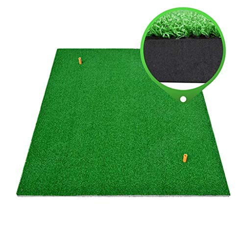 YANGSANJIN Normal and Thickened Version 20MM Golf Portable Hit Pad Golf Practice Hit Pad Suitbale for Various Wood Rods and Iron Rod