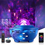 Star Projector, CrazyFire Smart Galaxy Projector with Music Bluetooth Speaker, Ocean Wave Night Light Nebula Cloud Ceiling Projector, Remote/APP/Voice Control for Kids Adults Gift Bedroom Party Decor