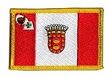 Flaggen Aufnäher Spanien La Gomera Fahne Patch + gratis