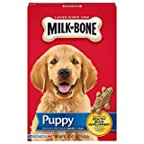 Milk-Bone Original Dog Treats Biscuits for Puppies, 16 Ounces (Pack of 6)