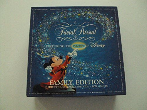 Trivial Pursuit Family Edition Disney Master Game by Horn Abbot